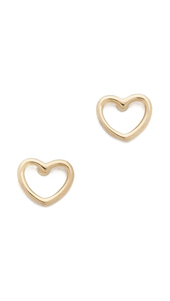 Marc by Marc Jacobs Love Stud Earrings