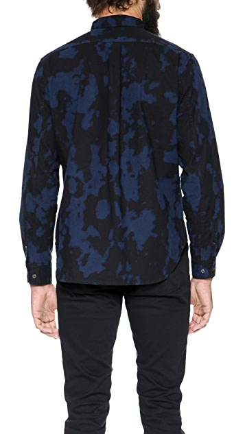 Marc by Marc Jacobs Bleach Out Cotton Popover