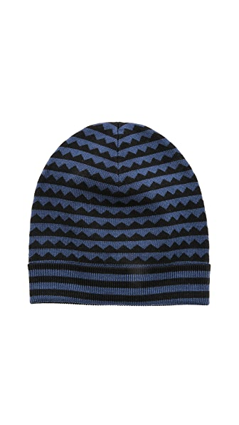 Marc by Marc Jacobs Zigzag Sweater Cap