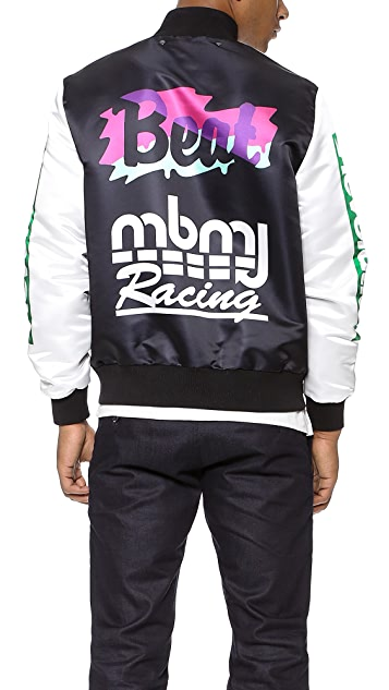 Marc by Marc Jacobs Tiger Claw Satin Jacket