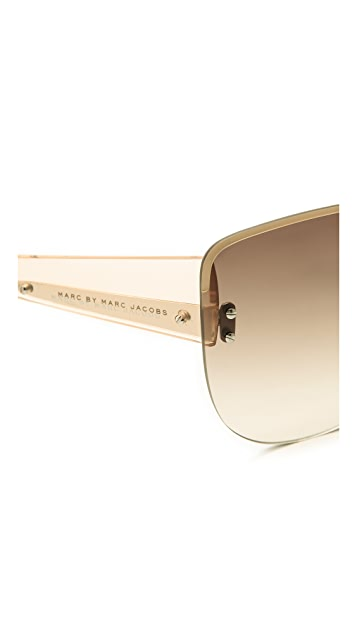 Marc by Marc Jacobs Rimless Sunglasses