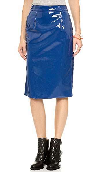 Marc by Marc Jacobs Emi Plastic Skirt