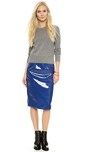 Marc by Marc Jacobs Emi Plastic Skirt