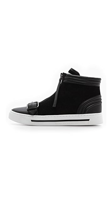 Marc by Marc Jacobs BMX Zip Up Buckle Sneakers