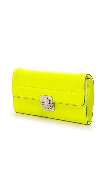 Marc by Marc Jacobs Top Schooly Long Trifold Wallet