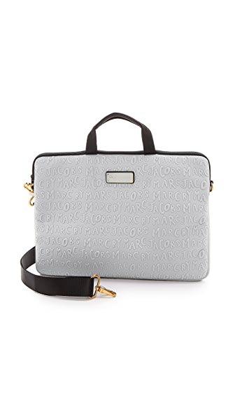 "Marc by Marc Jacobs Adults Suck Neoprene 15"" Commuter Bag"