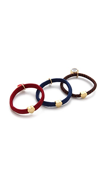 Marc by Marc Jacobs Apple of My Eye Pony Hair Ties