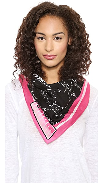Marc by Marc Jacobs Skull Bandana
