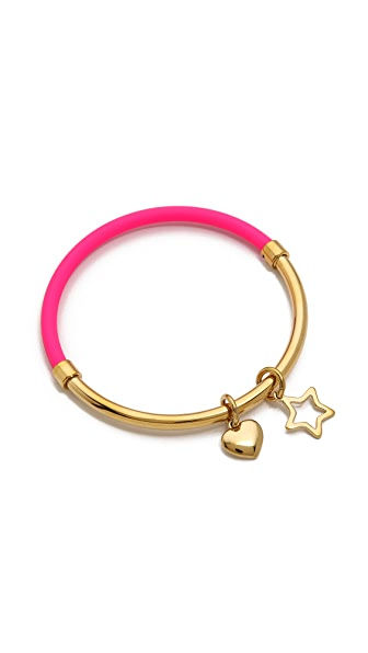 Marc by Marc Jacobs Heart Star Hula Hoop Bangle