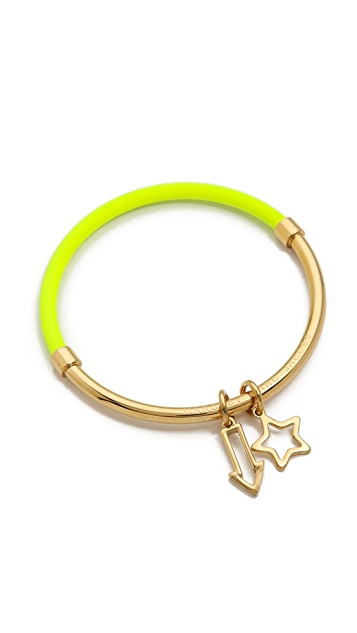Marc by Marc Jacobs Shoot Star Hula Hoop Bangle Bracelet
