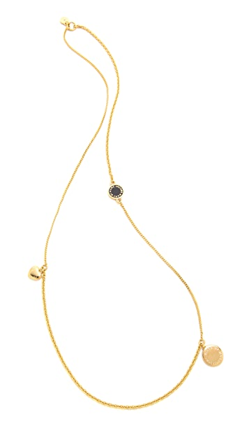 Marc by Marc Jacobs Toc Collected Charms Long Necklace