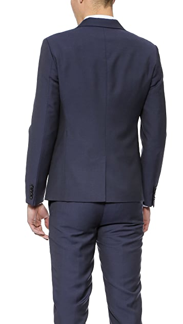 Marc by Marc Jacobs Tropical Wool Suit Jacket