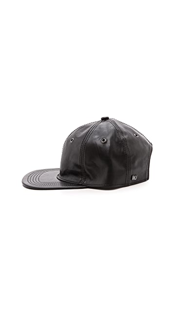 Marc by Marc Jacobs Leather Cap