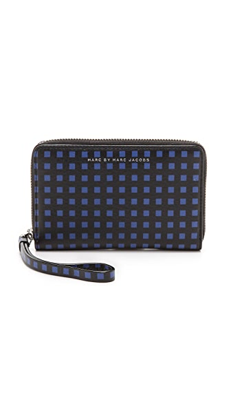 Marc by Marc Jacobs Space Check Wingman Wallet