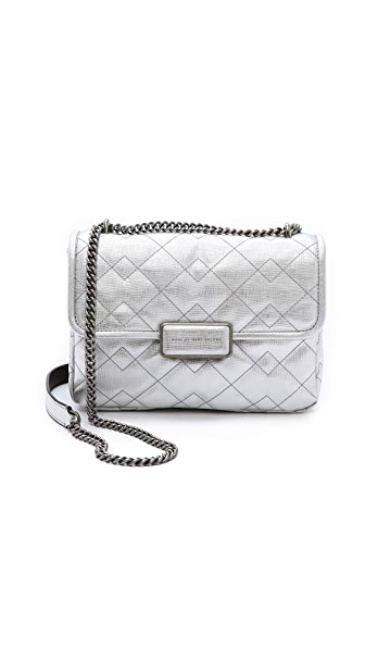 Marc by Marc Jacobs Quilted Metallic Rebel 24 Bag