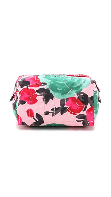 Marc by Marc Jacobs Pretty Nylon Jerrie Rose Small Cosmetic Case