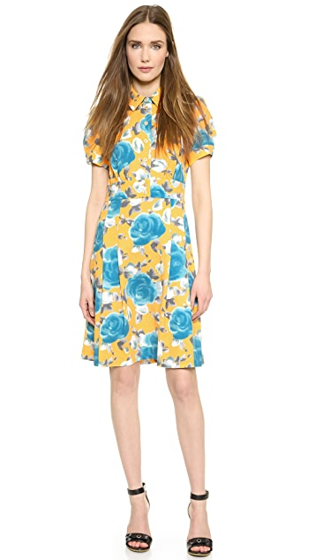 Marc by Marc Jacobs Jerrie Rose Crepe Dress