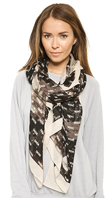 Marc by Marc Jacobs Intergalactic Logo Scarf