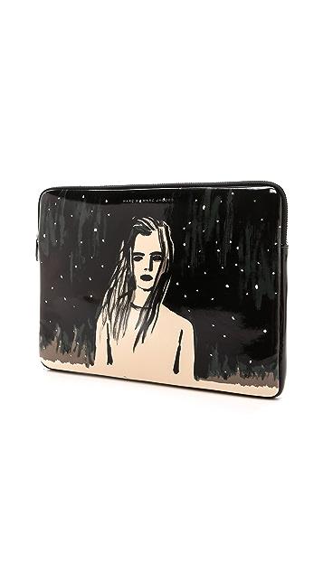 Marc by Marc Jacobs Astronauts Laptop Zip Case