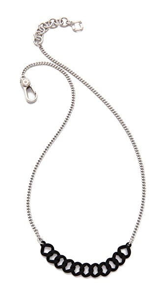 Marc by Marc Jacobs Rubberized Delicate Katie Necklace