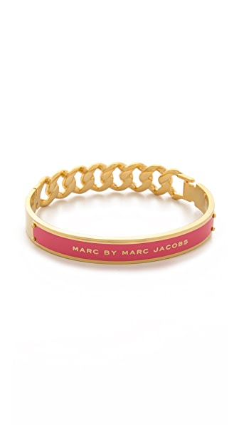 Marc by Marc Jacobs Enamel ID Katie Bangle Bracelet