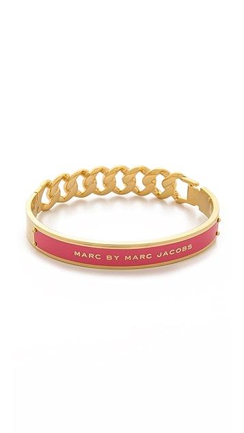 Marc by Marc Jacobs Enamel ID Katie Bangle Bracelet