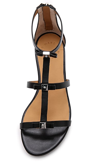 Marc by Marc Jacobs Cube Bow Flat Sandals