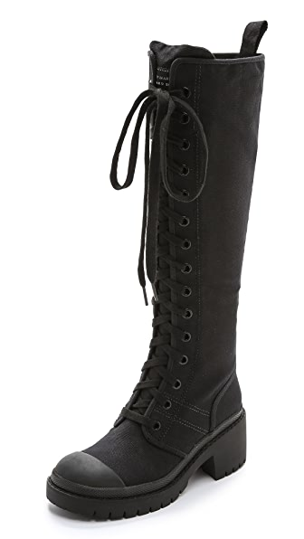 Marc by Marc Jacobs Tall Army Boots