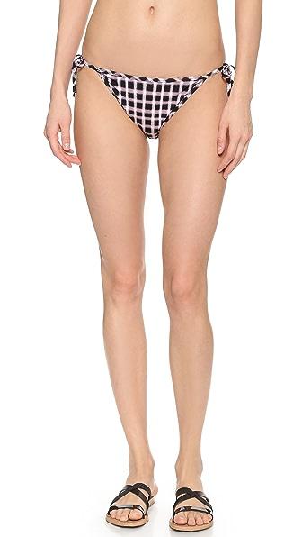Marc by Marc Jacobs Clem Side Tie Bikini Bottoms