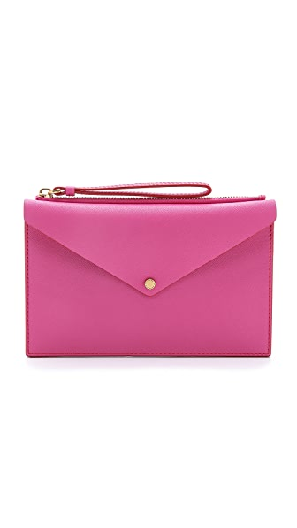 Marc by Marc Jacobs Metropoli Large Envelope Zip Pouch