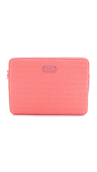 """Marc by Marc Jacobs Adults Suck Neoprene 15"""" Computer Case"""