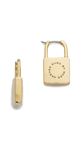 Marc by Marc Jacobs Lock In Earrings