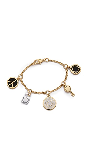 Marc by Marc Jacobs Happy House Charm Bracelet