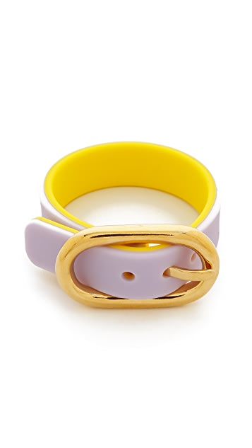 Marc by Marc Jacobs Buckle Up Silicone Bracelet
