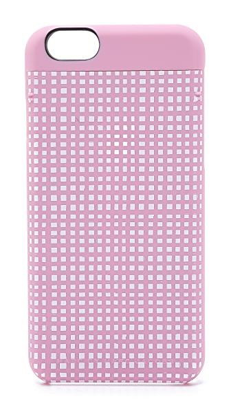 marc by marc jacobs mini gingham mirror iphone 6 case. Black Bedroom Furniture Sets. Home Design Ideas