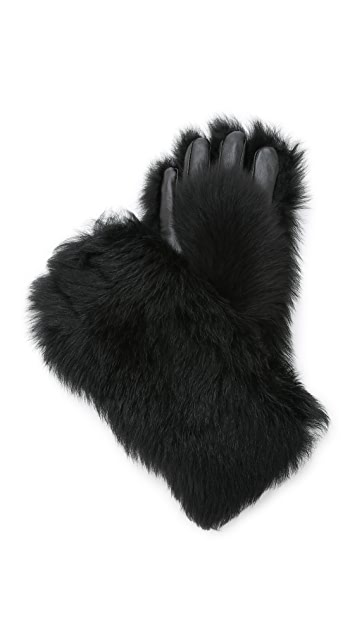 Marc by Marc Jacobs Shearling Gorilla Gloves