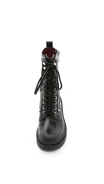 Marc by Marc Jacobs Richardson Zip Army Boots