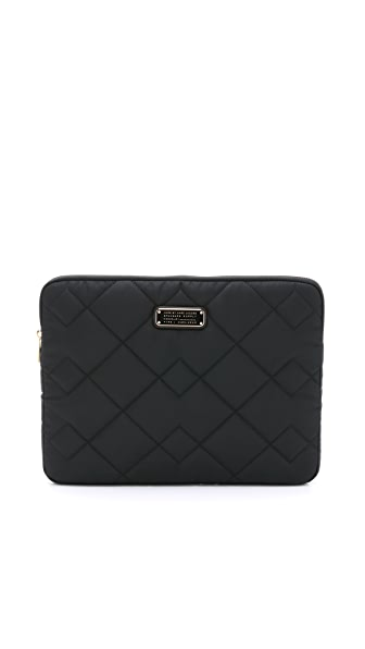 "Marc by Marc Jacobs Crosby Quilt Nylon 13"" Computer Case"