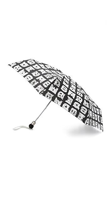 Marc by Marc Jacobs Stacked Logo Umbrella