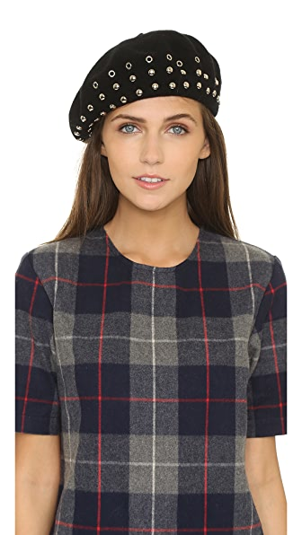 Marc by Marc Jacobs Embellished Beret