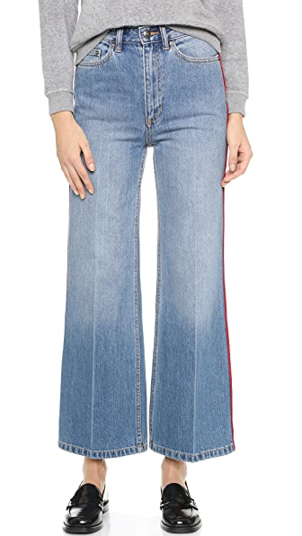 Marc by Marc Jacobs Crop Wide Leg Jeans