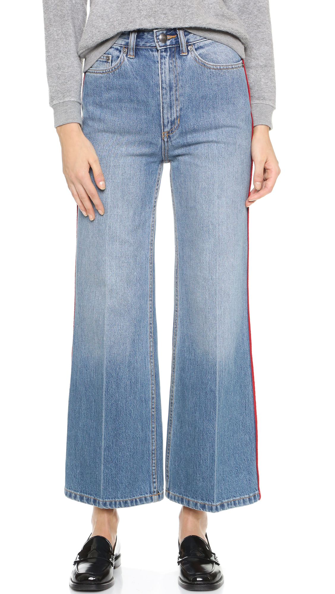 Womens Wide-Leg Jeans Marc Jacobs RM7iPPhR9