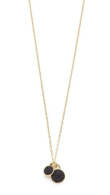 Marc by Marc Jacobs Pave Disc Pendant Necklace