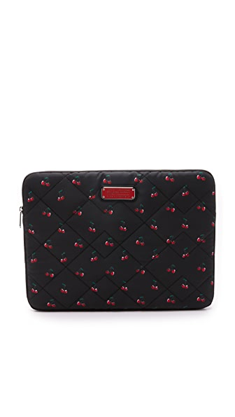 """Marc by Marc Jacobs Crosby Quilted Nylon Fruit 13"""" Computer Case"""