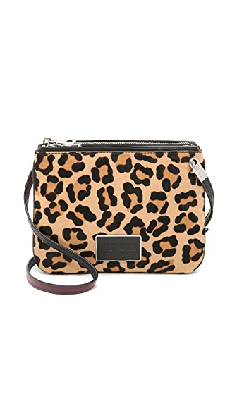 Marc by Marc Jacobs Ligero Leopard Double Percy Bag