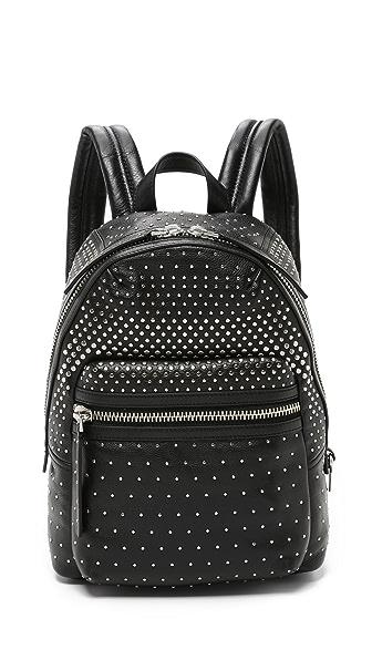 Marc By Marc Jacobs Domo Biker Degrade Studs Backpack - Black