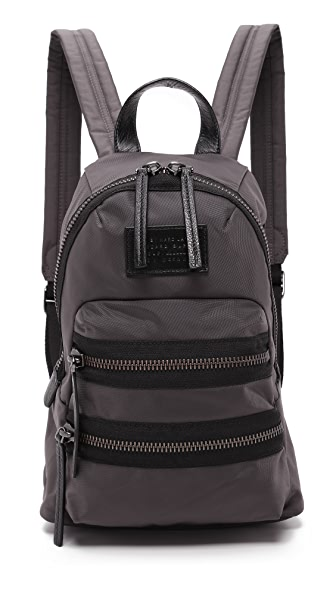 Marc By Marc Jacobs Domo Arigato Mini Packrat Backpack - Faded Aluminum