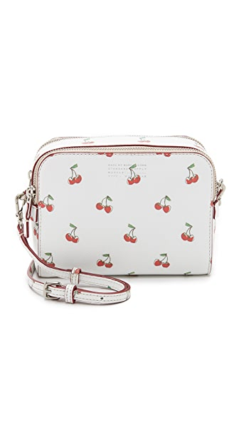 Marc by Marc Jacobs Double Zip Cherry Cross Body Bag