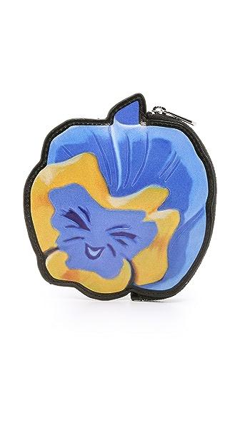 Marc By Marc Jacobs Garden Flower Coin Pouch - Bluet Flower