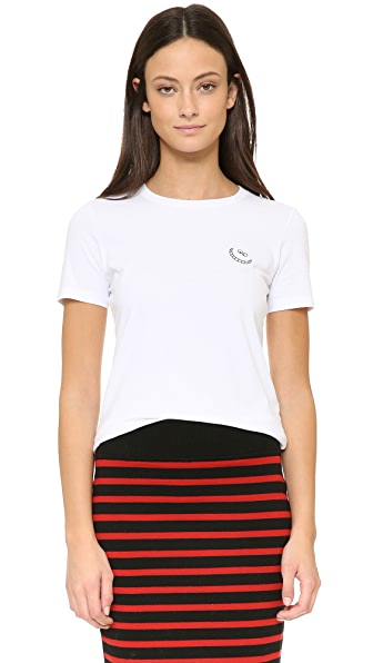 Marc By Marc Jacobs Disney X Marc Cheshire Cat Tee - White Multi